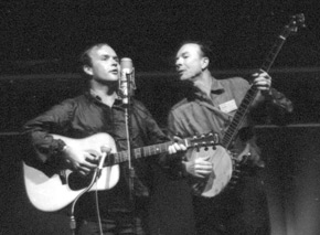 Tom Paxton with Pete Seeger
